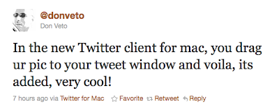 TwitterTip - Tip #102 Quickly drag and drop photos into your Tweet using Twitter for Mac Screen%2Bshot%2B2011-01-12%2Bat%2B3.08.38%2BPM