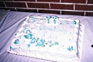 The cake was from Giant Eagle... delicious!