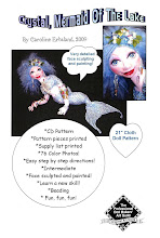 Crystal, Mermaid Of The Lake Cloth Doll Pattern