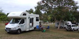 Autocamper og campingplads i Charter Towers, Queensland, Australien