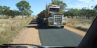 Vejen til Undara, Queensland, Australien