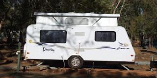 Autocamper i Australien