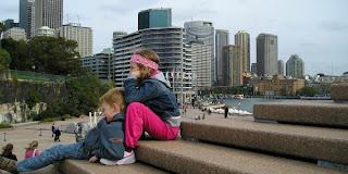 Centrum af Sydney, Australien