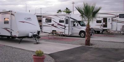 palms rv resort, autocamper og motorhome campingplads i californien på rejser til USA
