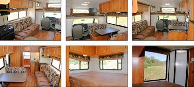 Road Bear autocamper motorhome på rejser i USA