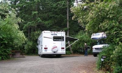 camping i canadas provins park rathtrevor