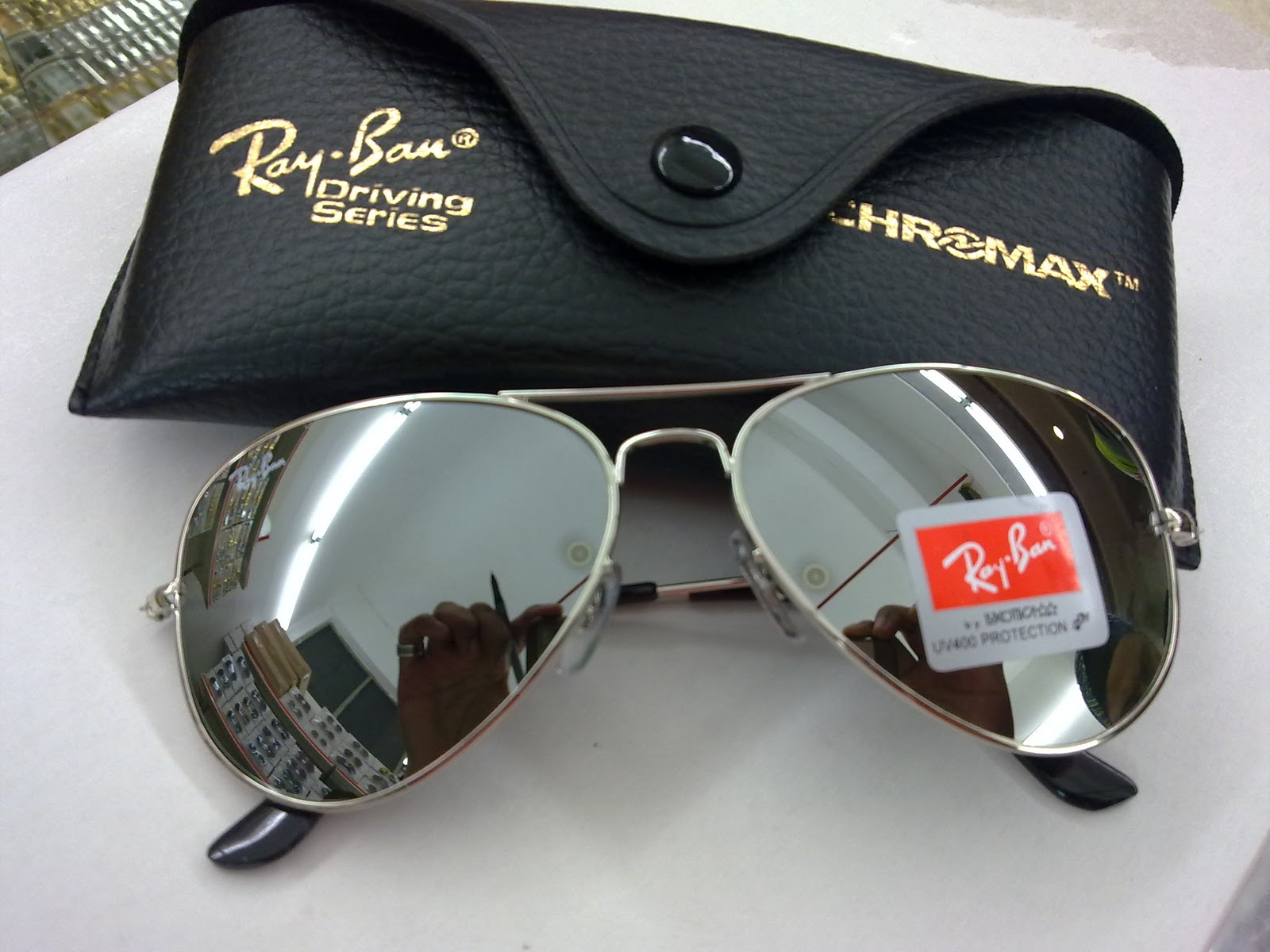 Ray Ban Grey Mirror