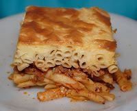 Pastitsio photo by Robert Kindermann