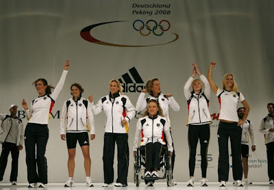 beijing china olympics uniform 2008 Germany deutchland team