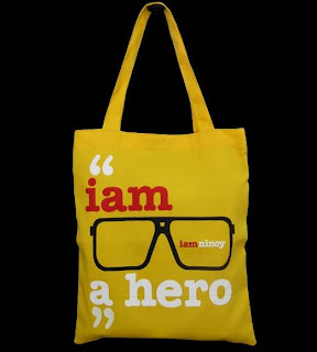 I AM NINOY AQUINO TEAM MANILA SHIRT BAG