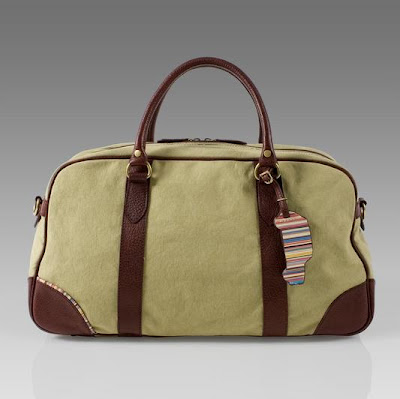 fashion style canvas worn bag for men paul smith uk