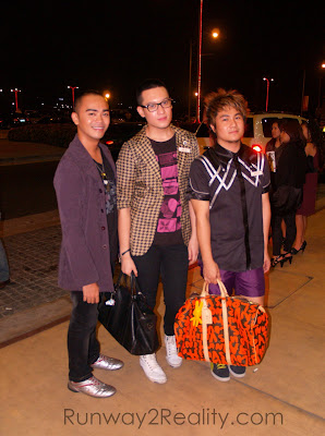 Philippine Fashion Week Holiday 2009 SMX Style Fashionista Runway2Reality Bloggers Celebrity Models Matt Gozun Jake Galvez