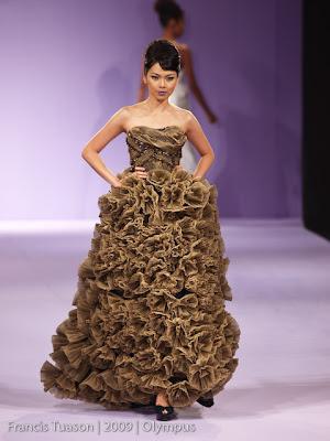 jaz cerezo philippine fashion week 2009 grand allure runway models designers photos