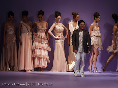 marc rancy philippine fashion week 2009 grand allure runway models designers photos