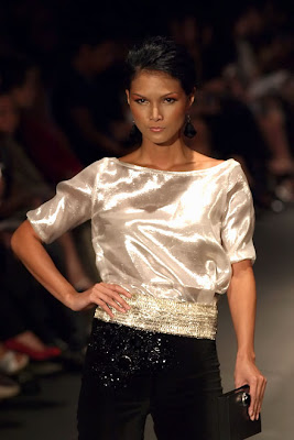 robin tomas philippine fashion week 2009 holiday designers model celebrity runway photos