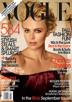 Charlize Theron vogue september issue cover US