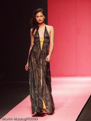 kat sy Philippine Fashion Week Spring Summer 2010 Luxewear