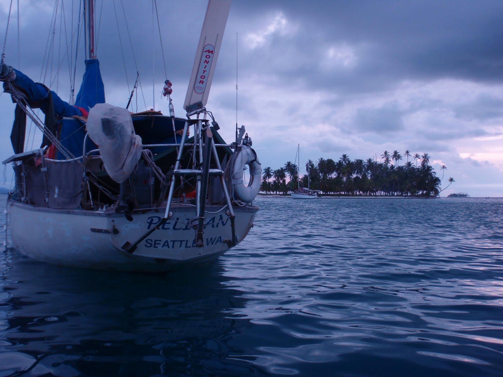 Sailing a Pearson Alberg 35: July 2010