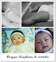 Eryssa Qiestina 3 month