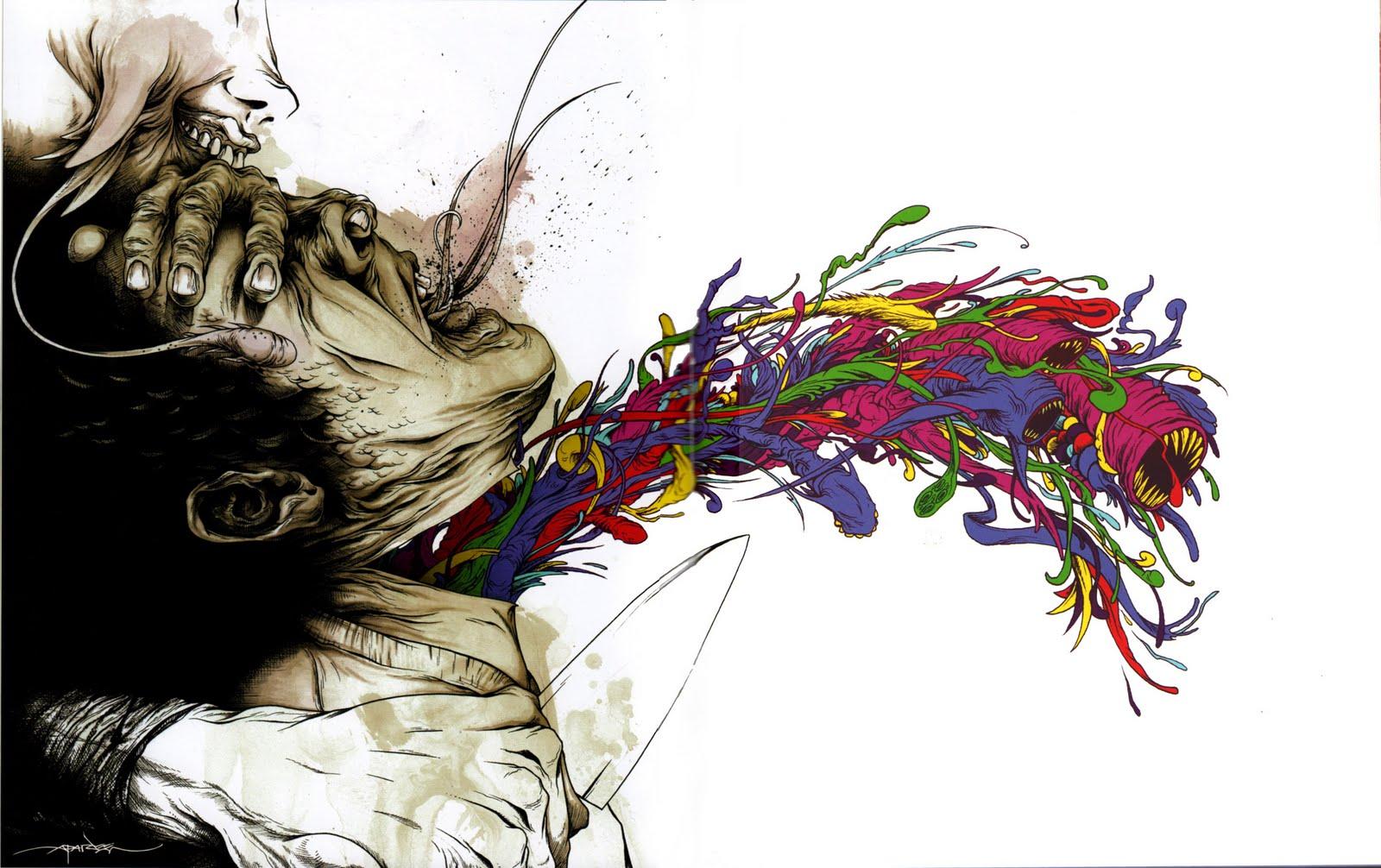 Journey Beyond The Comfort Zone - The Fantastical Art of Alex PardeeFamous Disturbing Art