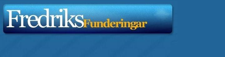 Fredriks Funderingar