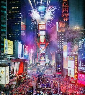 new york fire works