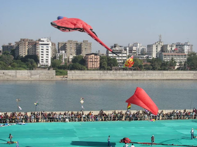 International Kite Festival 2011 - Ahmedabad, India