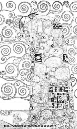 Blog de plástica : Gustav Klimt para niños
