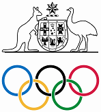 Australian Olympic Logo