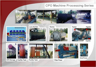 Palm Oil Machine Process