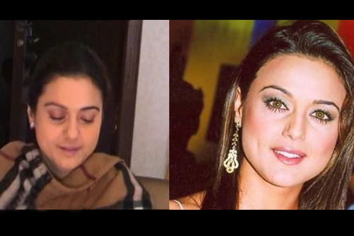 Without Makeup Preity Zinta. actress preity zinta . . .
