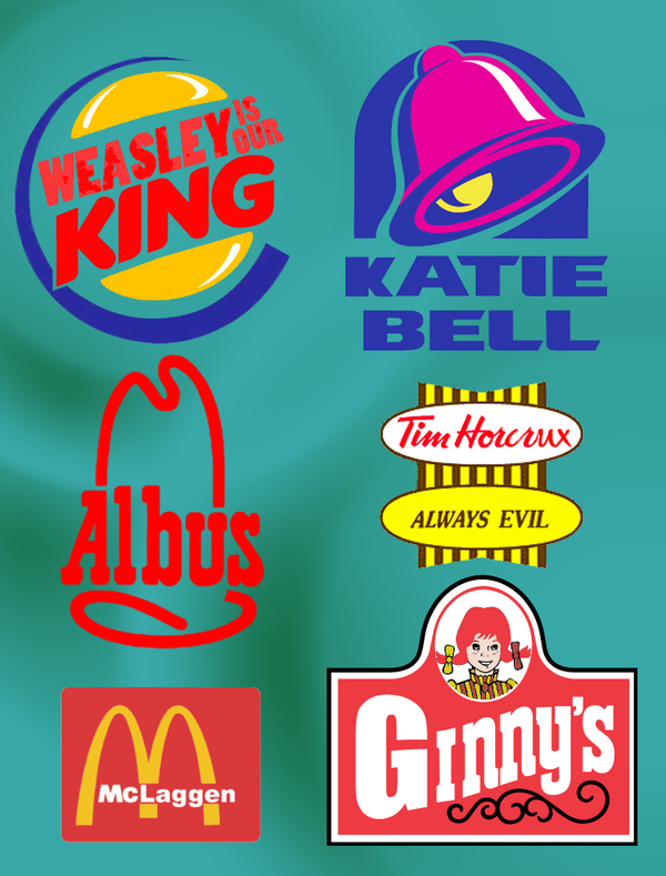... Compulsive Disorder: Harry Potter-ized Fast Food Logos... Awesome