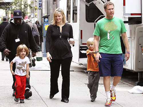 Will Ferrell Kids Emmys Will Ferrell's son's n...