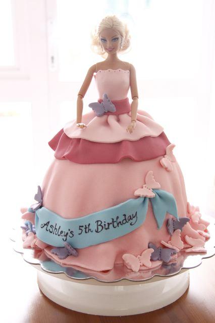Barbie Princess Cake Design : bake-a-boo: February 2011