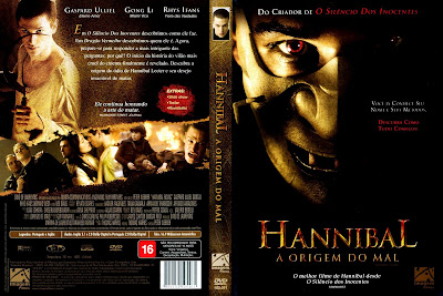 capa de DVD do filme Hannibal - A Origem Do Mal