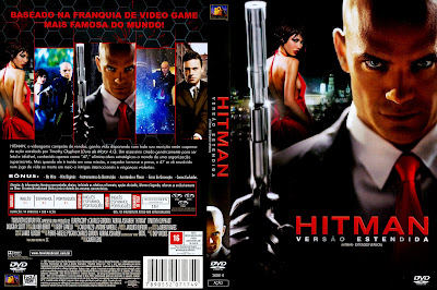 capa de DVD do filme Hitman