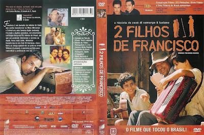 capa de DVD do filme 2 Filhos de Francisco