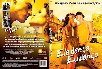 capa de DVD do filme Ela Dança, Eu Danço