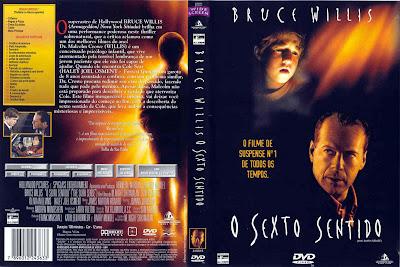 capa de DVD do filme O Sexto Sentido