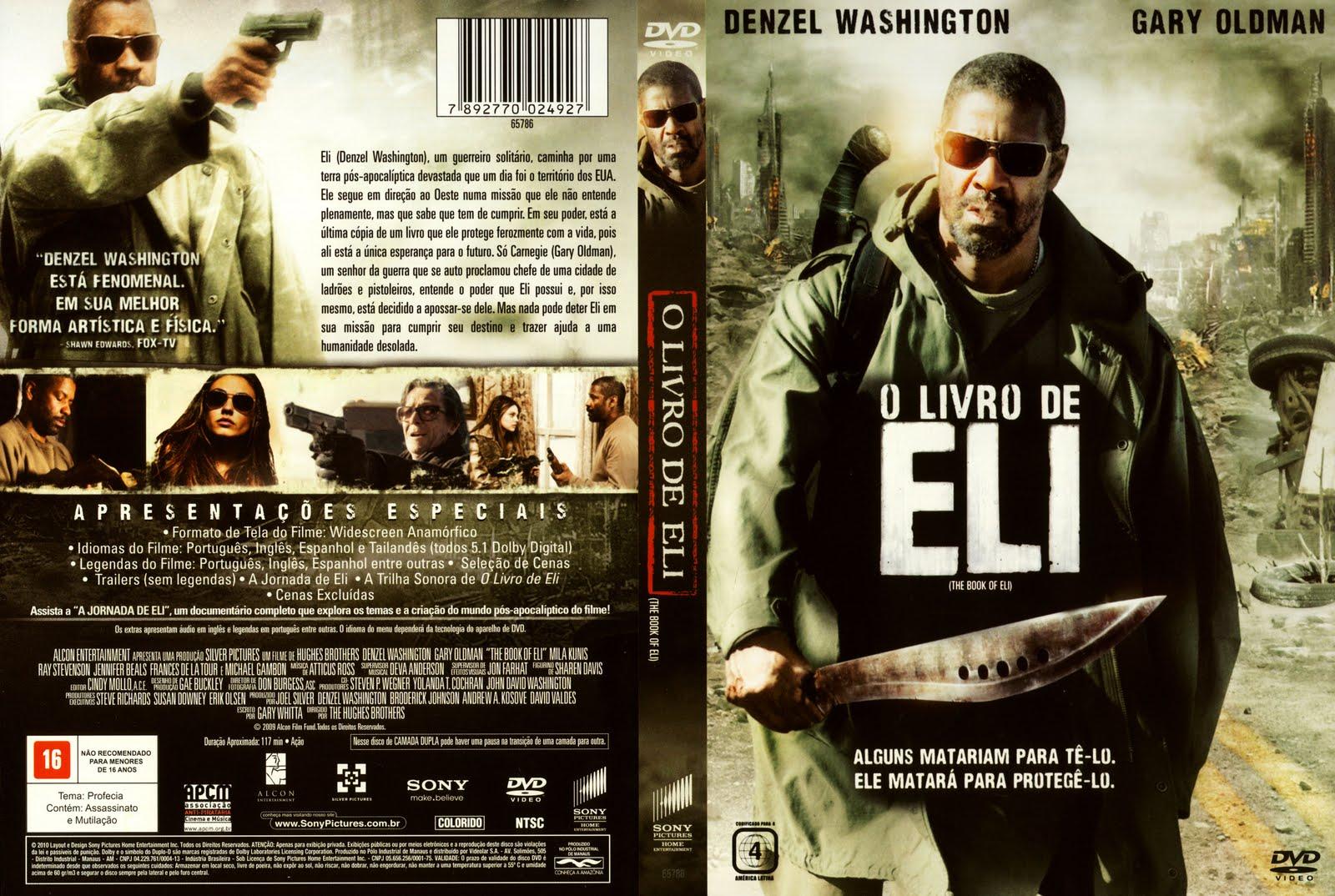 Baixar Filme O Livro de Eli DVDRip RMVB Dublado