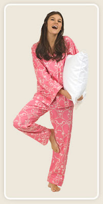Pink Arabesque Classic Sateen PJ