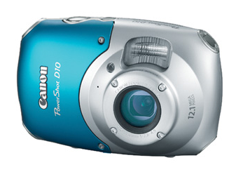 Canon PowerShot D10 Waterproof and Shockproof Digital Camera