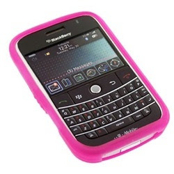 Kroo Pink Skin case for Blackberry Bold 9000