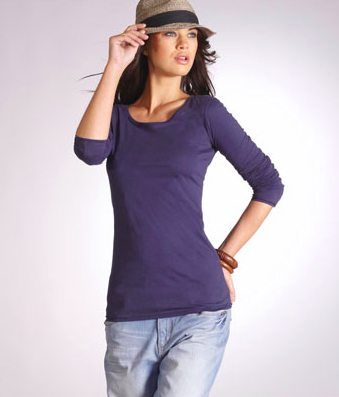 T-shirt long sleeve cotton