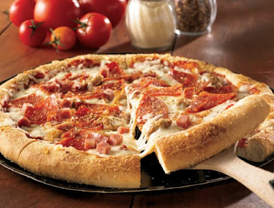 PIZZERIA STYLE Mega Meat Pizza