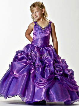 Tiffany Designs Girls Pageant Dress