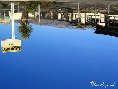 Lomas Avenue (Upside Down), Albuquerque, NM, 26-Dec-05