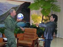 Dios y el arcángel Fidel