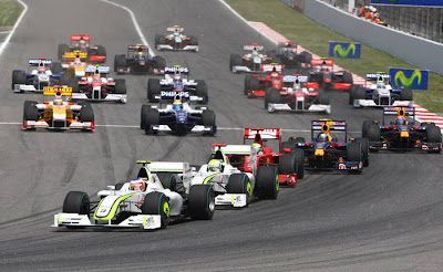 GP da Espanha de Formula 1, Catalunha em 2009 - by alessandraalves.blogspot.com