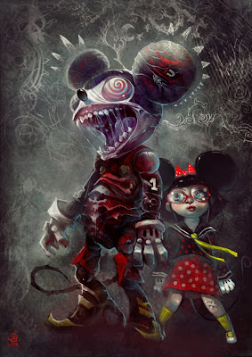 creepy mickey 